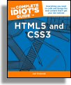 Complete Idiot's Guide to HTML5 & CSS3 Cover Image